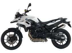 BMW F700GS includes full set of panniers
