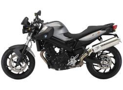 BMW F800R includes full set of panniers
