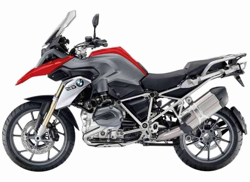 BMW R1200GS - both standard and lowered versions