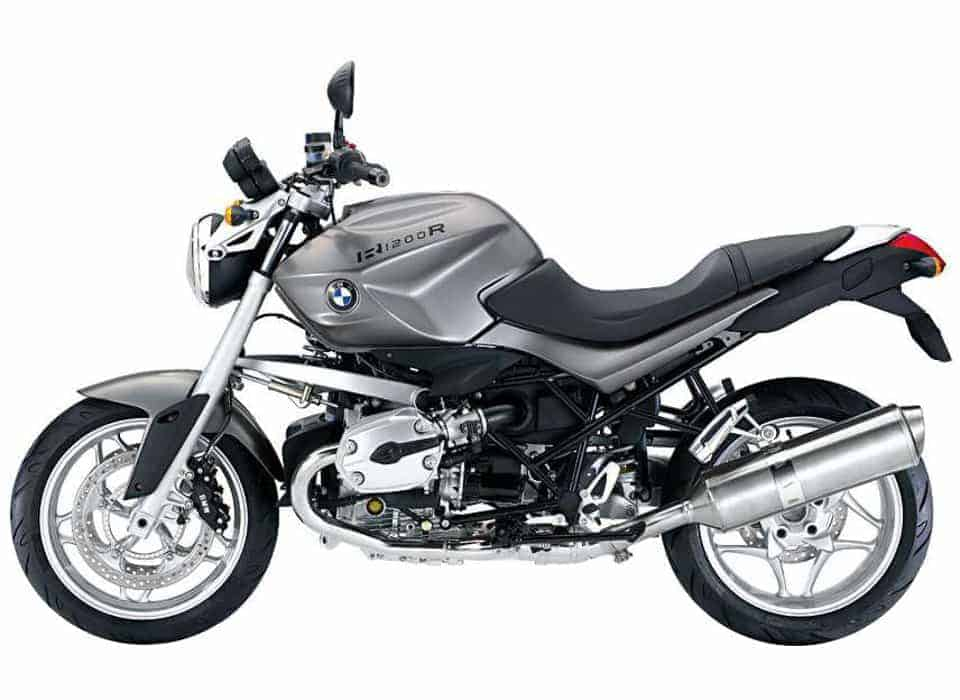 BMW R1200R - a superb bike for riding the Ring of Kerry or tackling the full Wild Atlantic Way