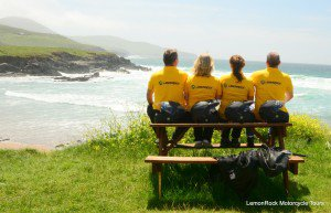LemonRock Bike Tours resting from riding Wild Atlantic Way