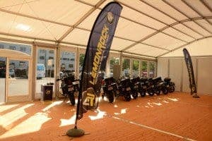A selection of premium BMW motorcycles from Lemonrock Bike Tours
