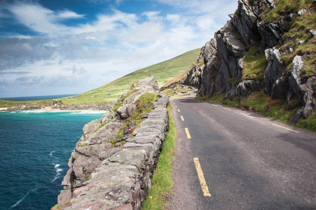 Slea Head by motorcycle - the only way to see it!