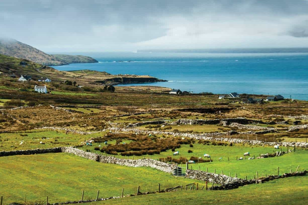 Forty shades of green and as many shades of blue - Ireland has it all