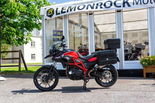 Rent BMW F700GS Motorcycle Rental Ireland