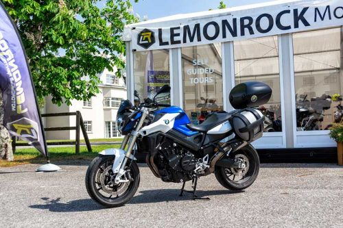 Rent BMW F800R Motorcycle Rental Ireland