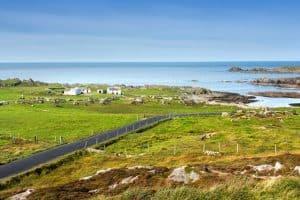 Round Ireland Motorcycle Tour - Malin Head Drive Inishowen Peninsula