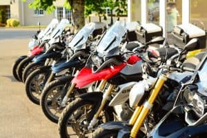 Preparing for a motorcycle tour in Ireland. Choosing the bike.