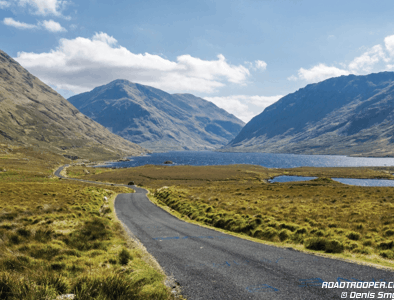 Self-guided motorcycle tours in Ireland