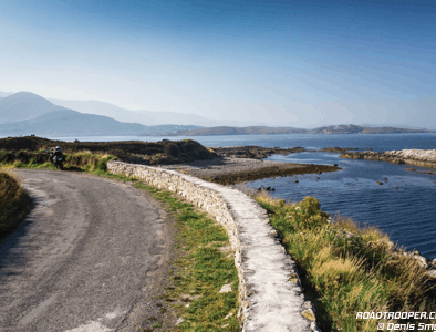 Self-guided motorcycle tours in Ireland with Lemonrock Bike Tours.