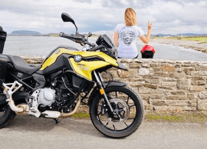 women rock women only motorcycle tour
