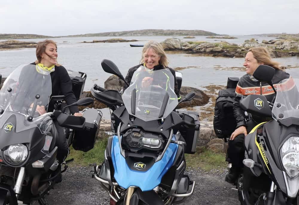 women only motorcycle tour