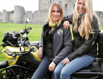 Female only motorcycle tour